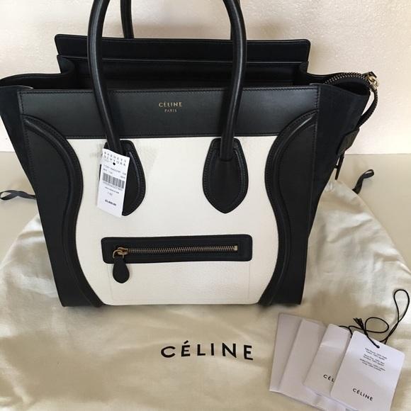 e5d334b04034 Celine mini luggage